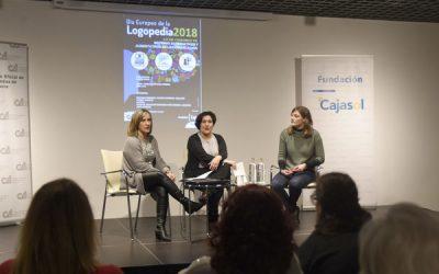 Acto en Colegio Oficial de Logopedas de Andalucía