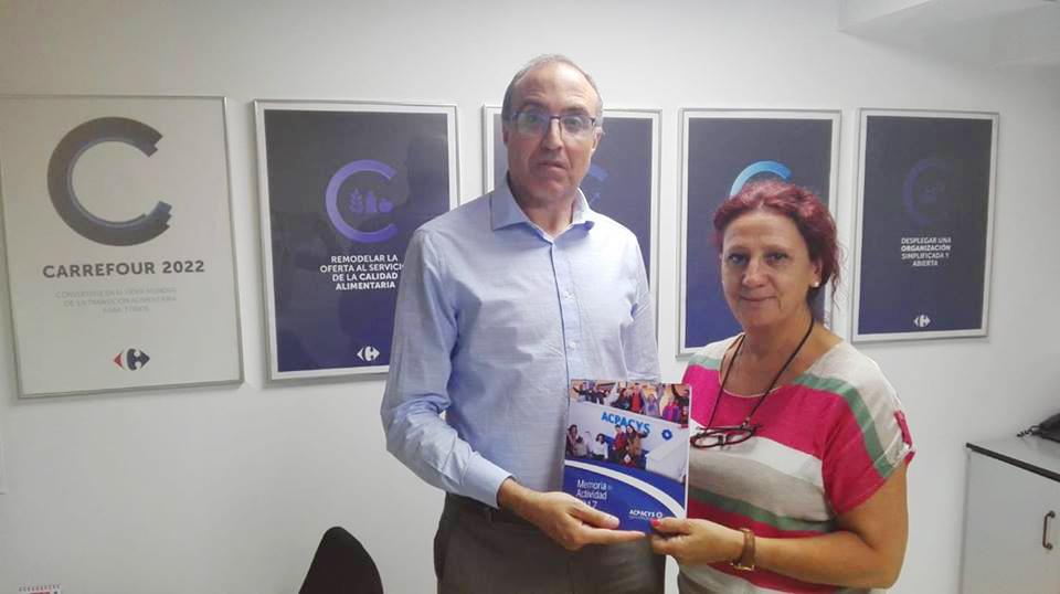 Entrega Memoria Actividades a Carrefour Sierra