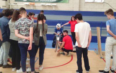 Jornada exhibición Deporte Inclusivo en el Colegio Cervantes