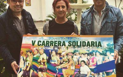 Acpacys presenta su V Carrera Solidaria en la Diputación de Córdoba