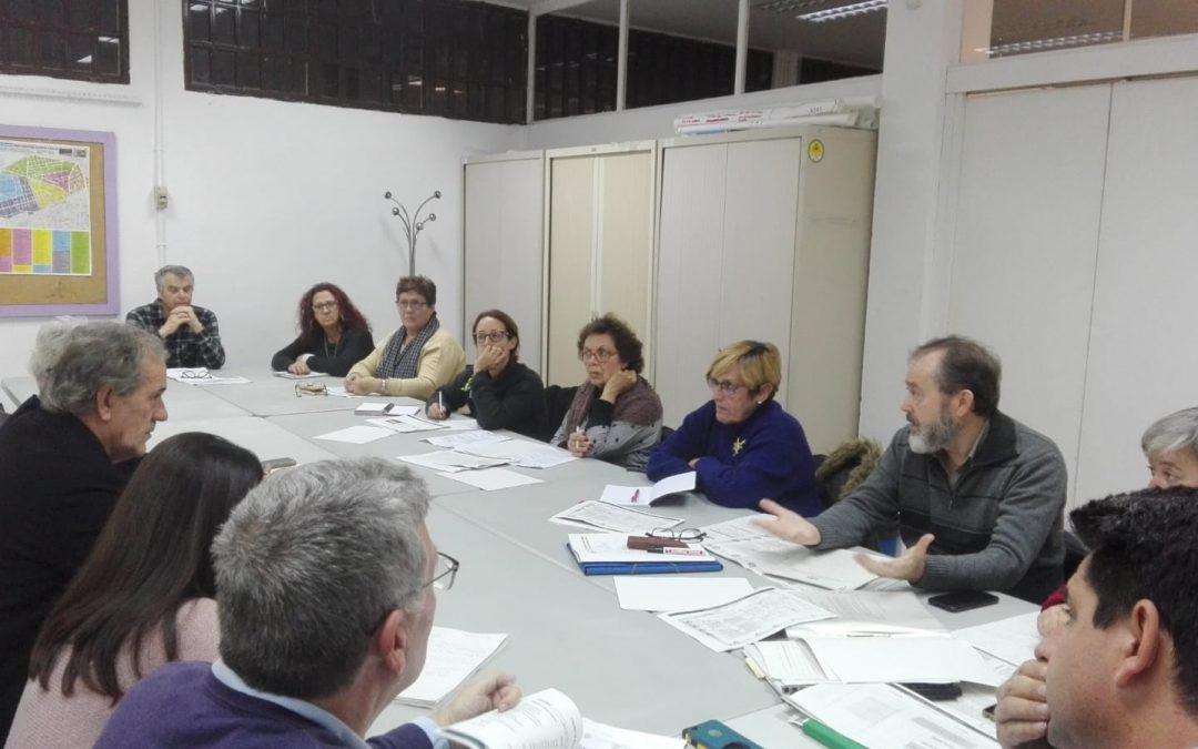 Reunión de la Junta Municipal del Distrito Noroeste