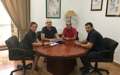 Acpacys mantiene una reunión con el Delegado Territorial de Conocimiento y Empleo en Córdoba de la Junta de Andalucía