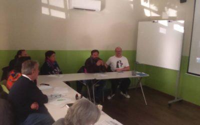 Reunión en Federación Aspace Andalucía para un nuevo proyecto de voluntariado