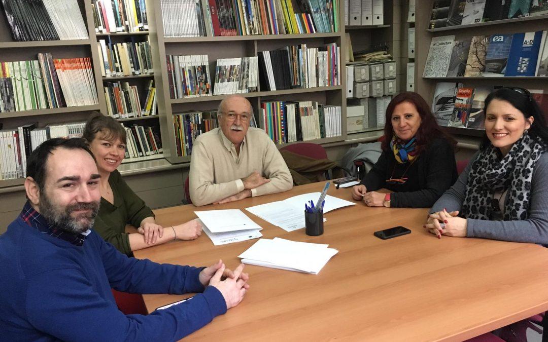 Acpacys firma un Convenio con el Colegio de Arquitectos