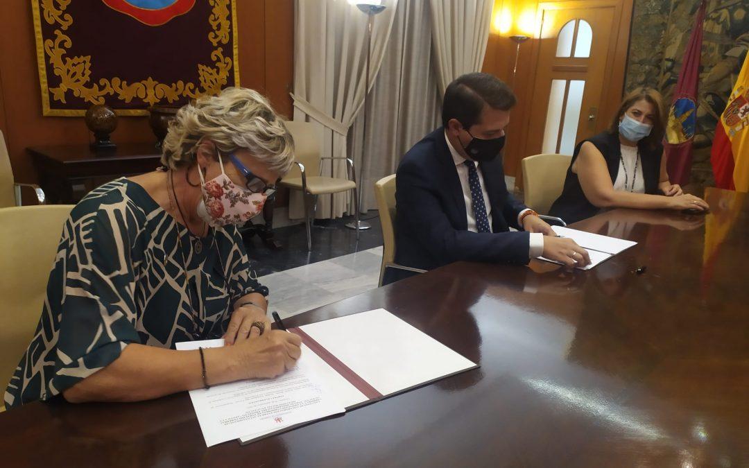 Firma de Convenio con Delegación de Servicios Sociales