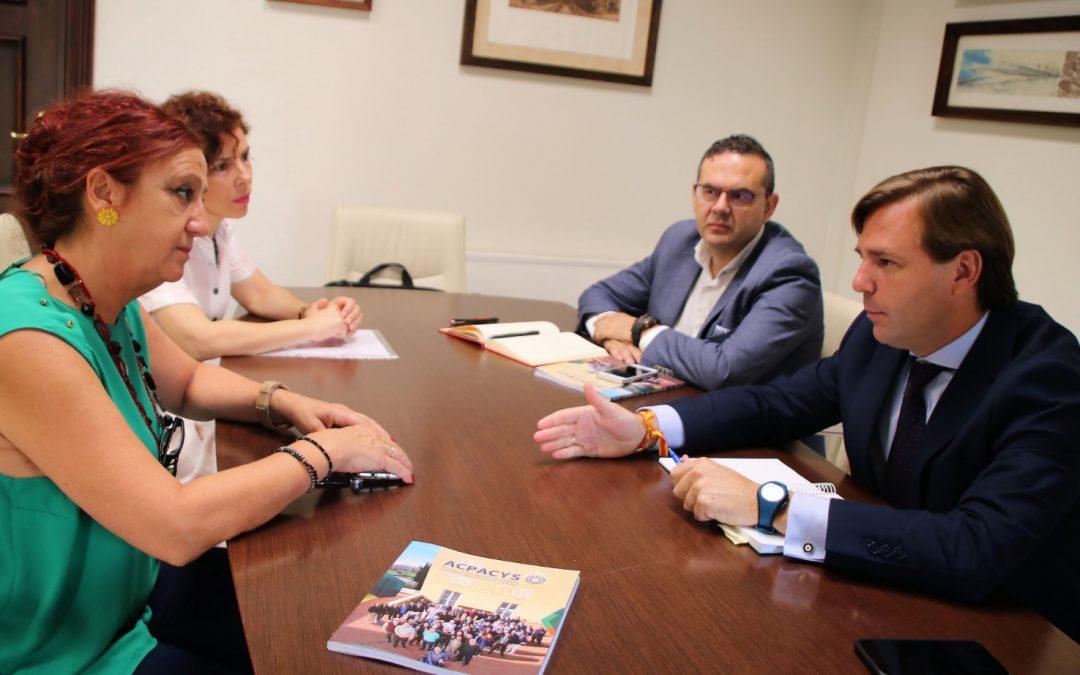 Acpacys se reúne con el Delegado del Gobierno de la Junta de Andalucía