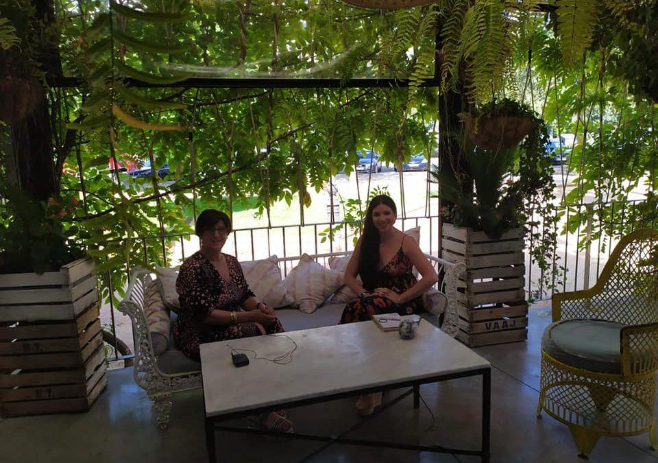 En Agosto llegará la entrevista que PTV realizó a nuestra Presidenta Rafaela Chounavelle y a nuestra Vicepresidenta Rafi Gómez