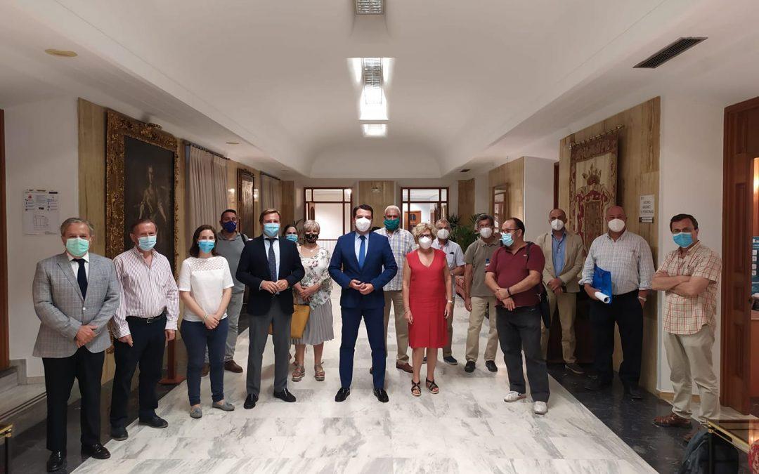 Reunión con el alcalde de Córdoba