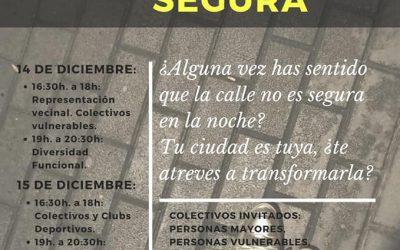 Acpacys participa en el taller «Córdoba, tu ciudad Segura» organizado por el Instituto Andaluz de la Mujer