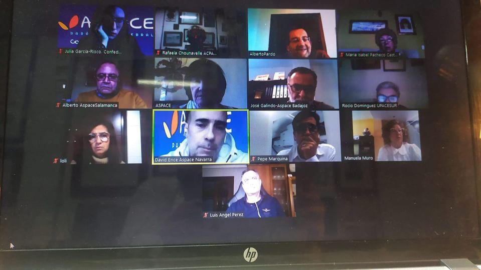 Reunión del grupo «Talento Aspace Presidencias»