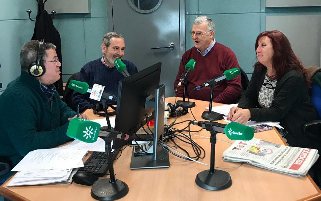 Entrevista a nuestros Presidentes en Canal sur Radio