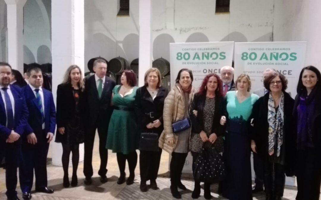 Comida de Santa Lucía de la ONCE en su 80 aniversario