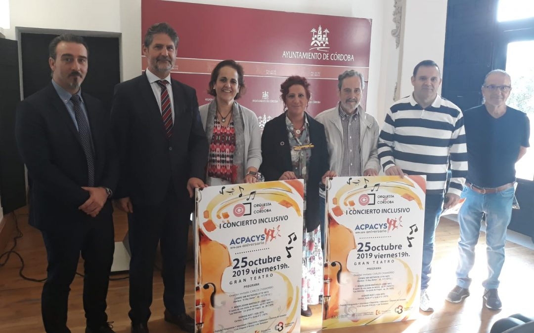 Presentación Cartel I Concierto Inclusivo de Córdoba