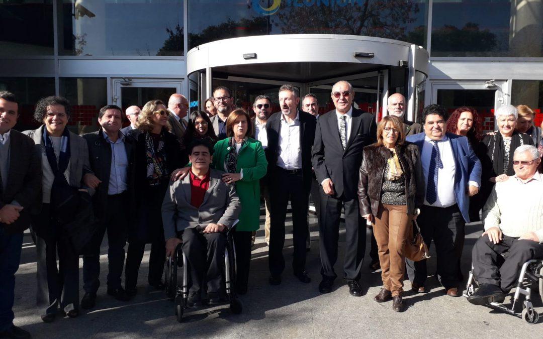 Conmemoración del CERMI Andalucía del Día Internacional de las Personas con Discapacidad