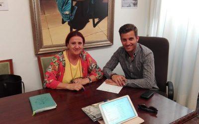 Acpacys se reúne con el delegado de juventud y deportes Diputación Córdoba