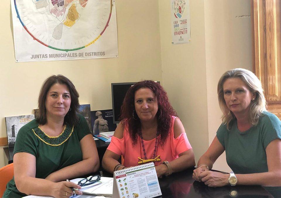 Reunión con la Concejala de Participación Ciudadana del Ayuntamiento de Córdoba