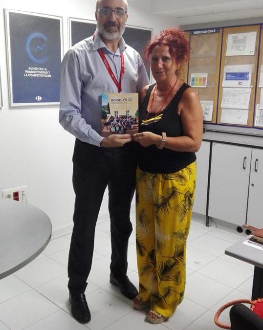 Entrega de la Memoria de Actividades 2018 a Carrefour la Sierra