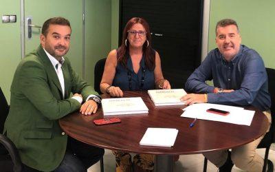 Acpacys se reúne Diputado en el Congreso de Ciudadanos por Córdoba y el Delegado de Educación, Infancia y Deportes del Ayuntamiento de Córdoba