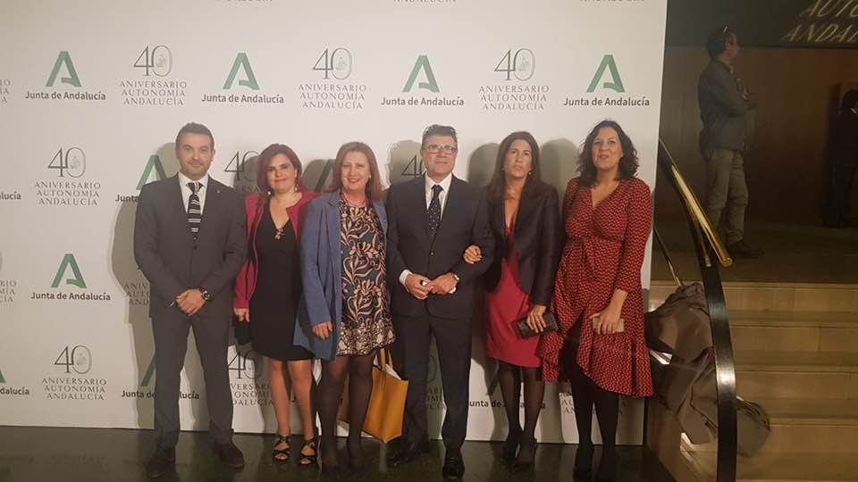 Acto de celebración del Día de Andalucía