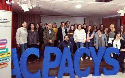 Acpacys nombrada vicepresidenta de la Plataforma del Voluntariado de Córdoba
