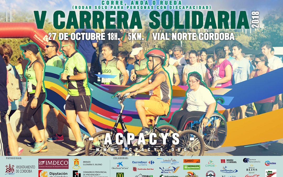 V Carrera Solidaria Acpacys 2018