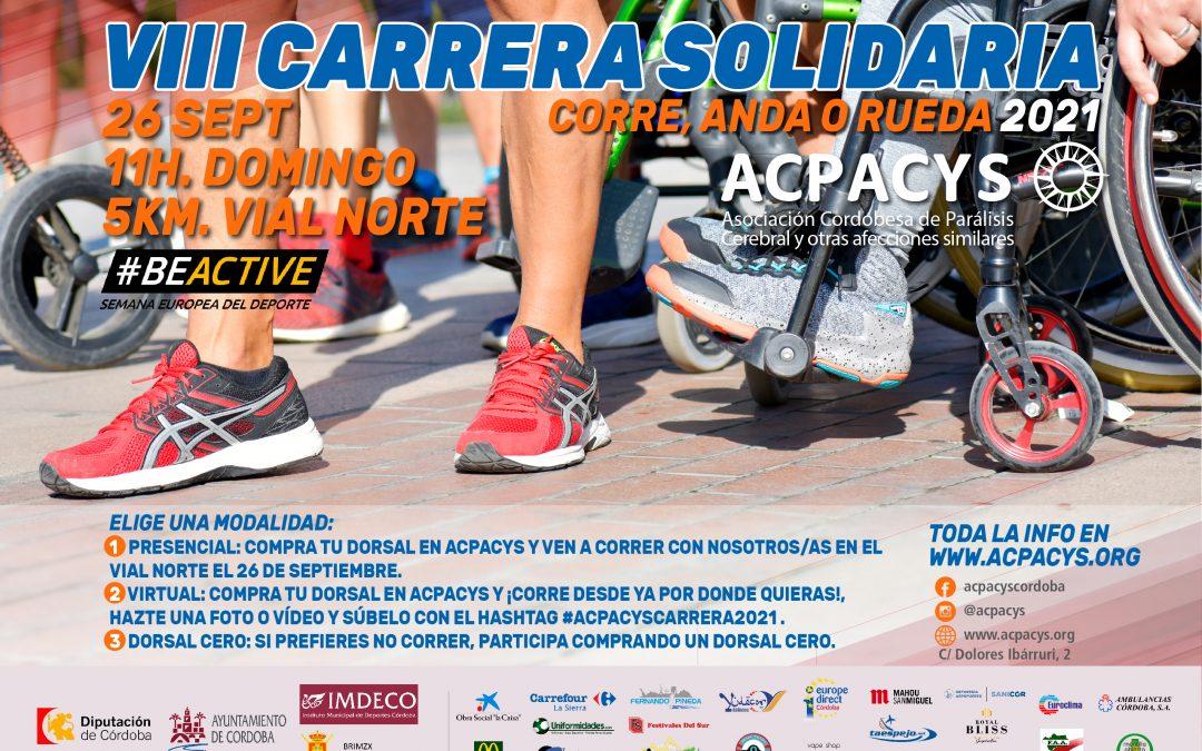 Información y Reglamento VIII Carrera Solidaria ACPACYS