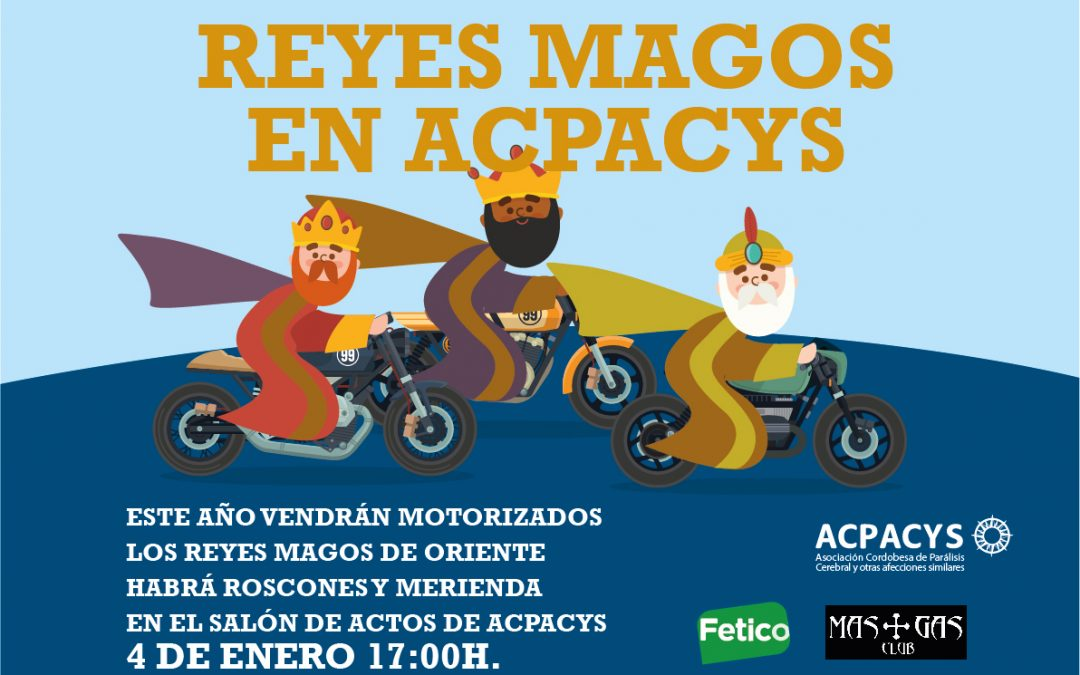 Los Reyes Magos visitarán Acpacys