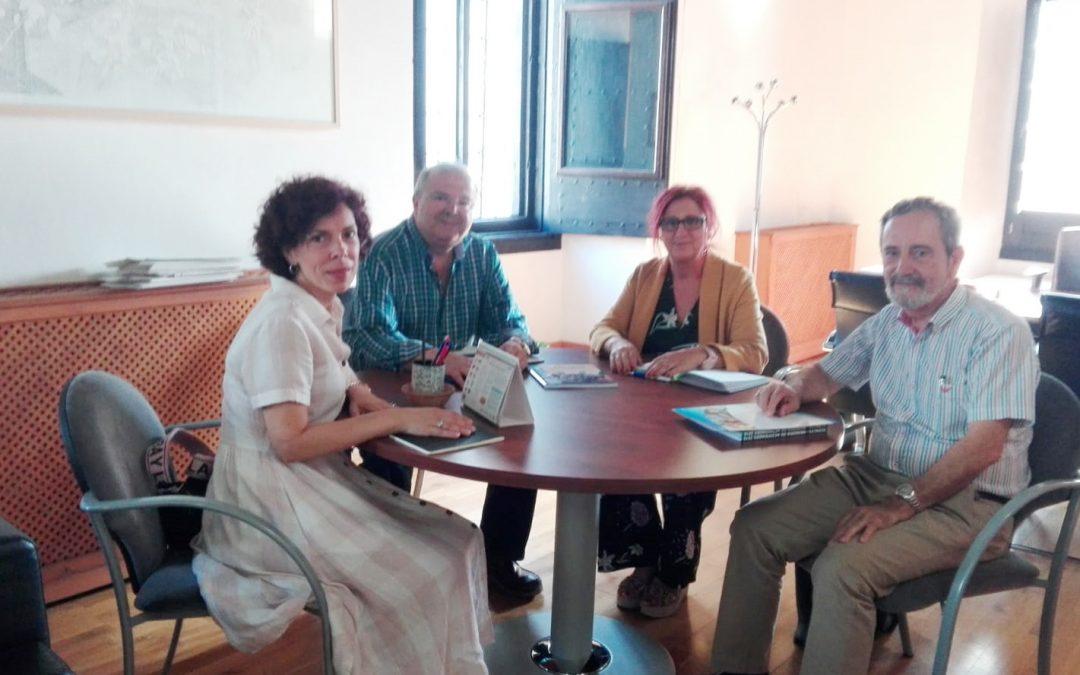 Reunión con el Concejal de Cultura
