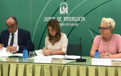 Consejería de Salud y Aspace Andalucía firman un convenio