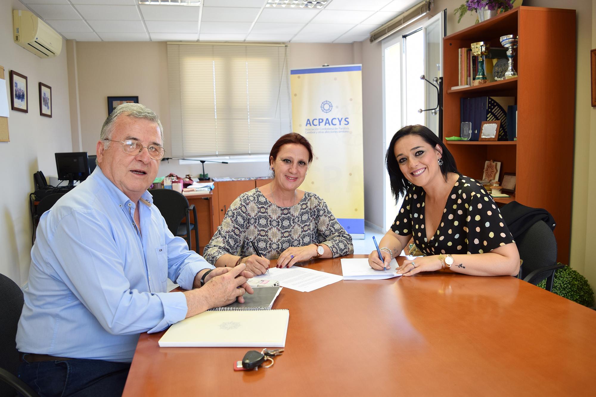 Firma convenio Hammam Al Ándalus Córdoba