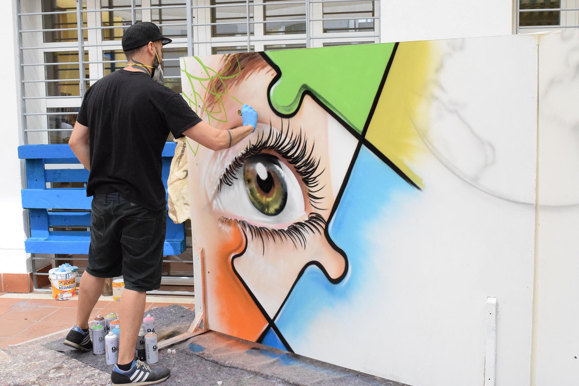 graffiti diversidad funcional y sociedad