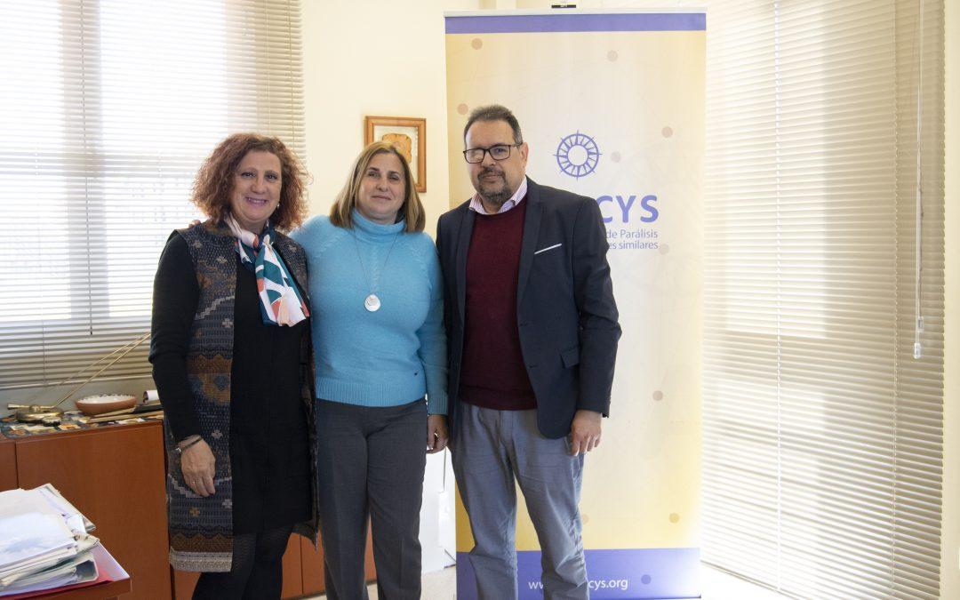Reunión con Carmen Aguilera y Francisco Valderas