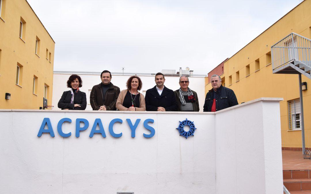 Acpacys recibe la visita del Director General de Personas con Discapacidad e Inclusión