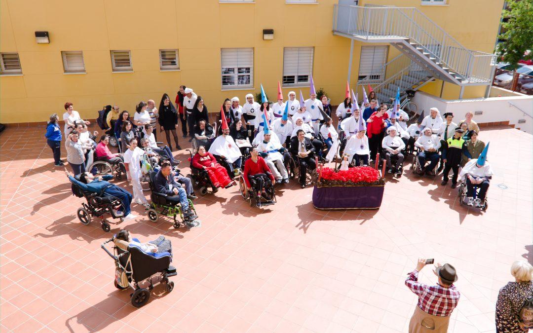 La procesión de Semana Santa de Fepamic visita Acpacys