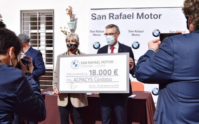 Donación de BMW para el nuevo Centro de Acpacys