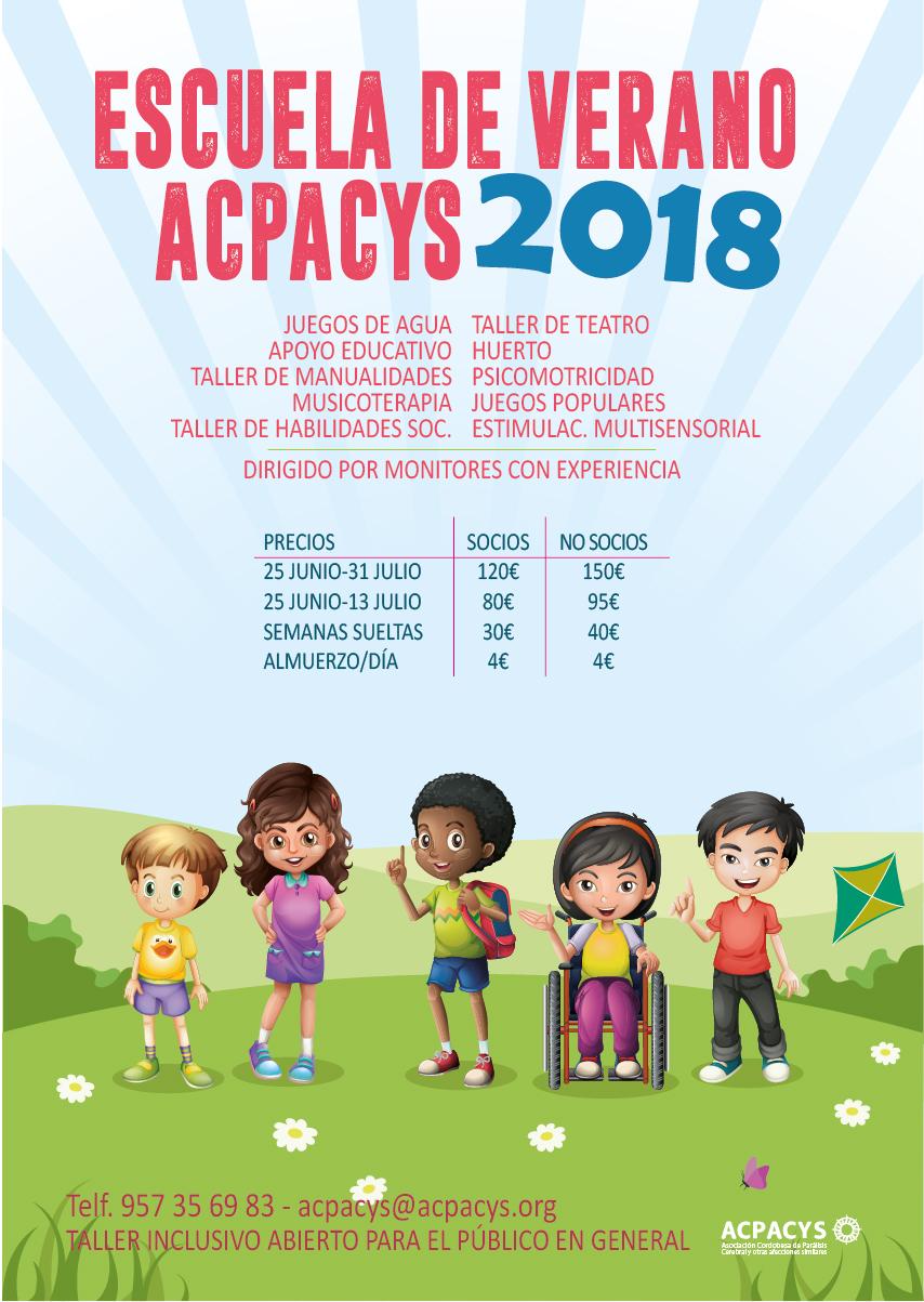 Escuela de verano Acpacys 2018