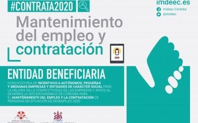 Subvención IMDEEC «CONTRATA2020»