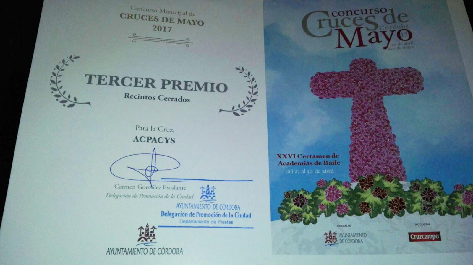 Entrega Premio Cruz de mayo
