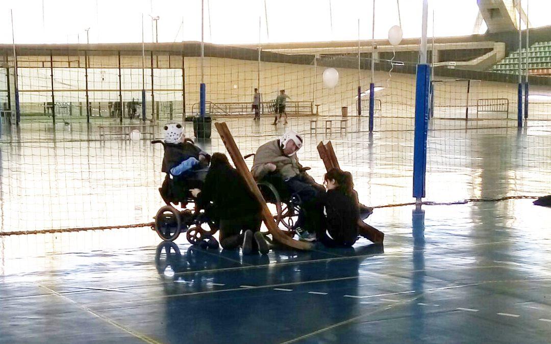 Jornada de Liga de Boccia en Sevilla