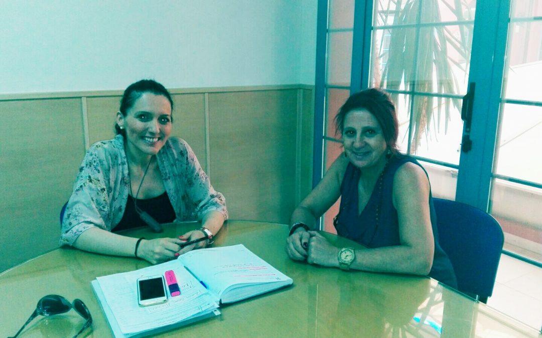 Las presidentas de Fepamic y Acpacys se reúnen para establecer lazos comunes de colaboración.