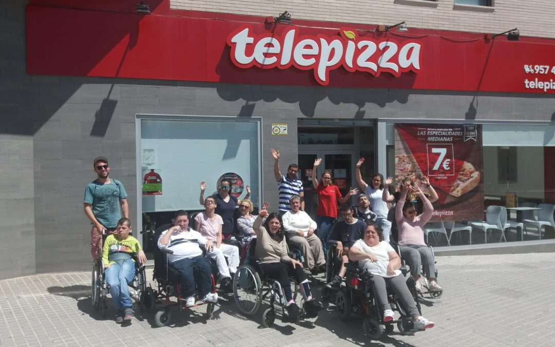 Visita al Telepizza