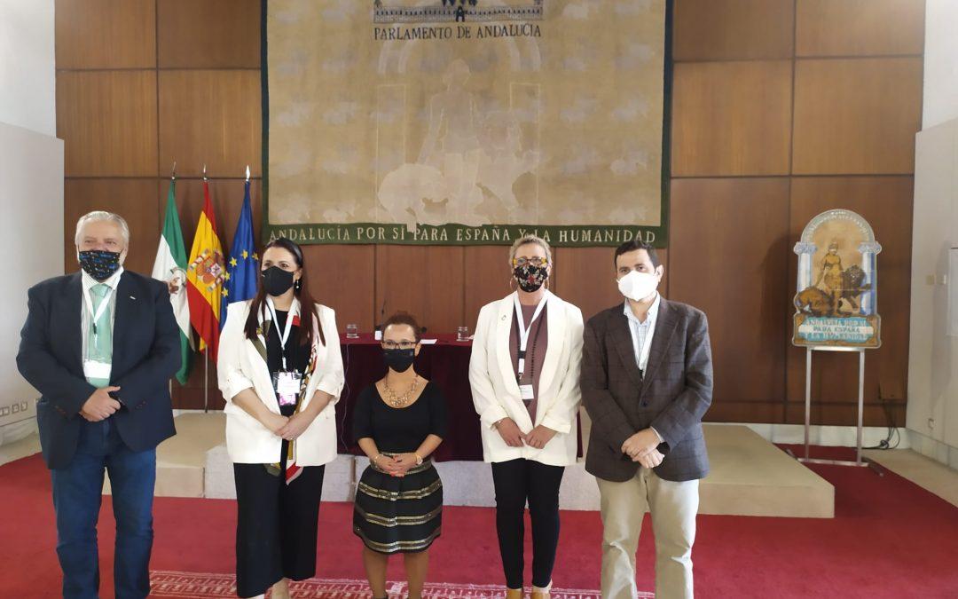 Asistimos al Parlamento de Andalucía para celebrar el Día de la Convención de los Derechos de las Personas con Discapacidad