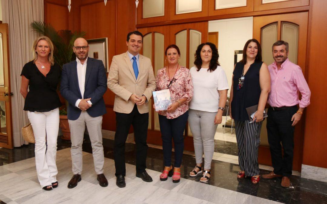 El Alcalde de Córdoba, José María Bellido se reúne con Acpacys