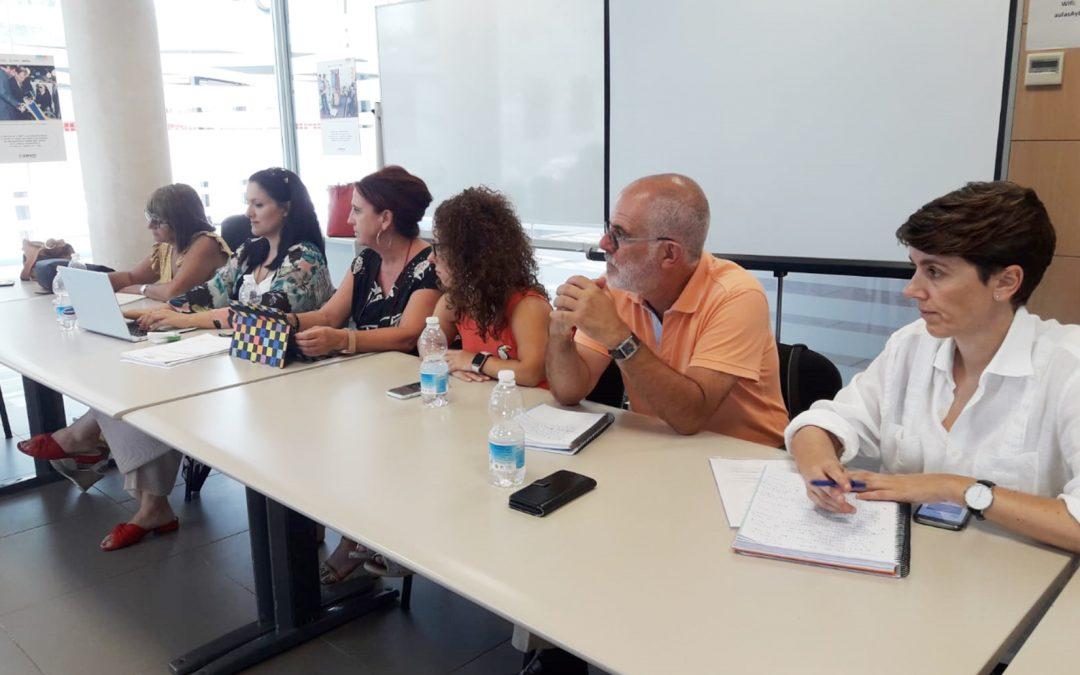 Renión con CERMI Estatal y CERMI Andalucía