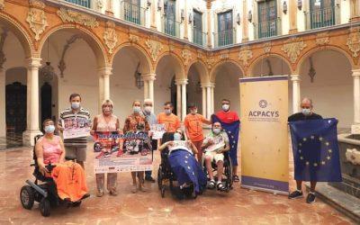 Presentación VIII Carrera Acpacys en Diputación