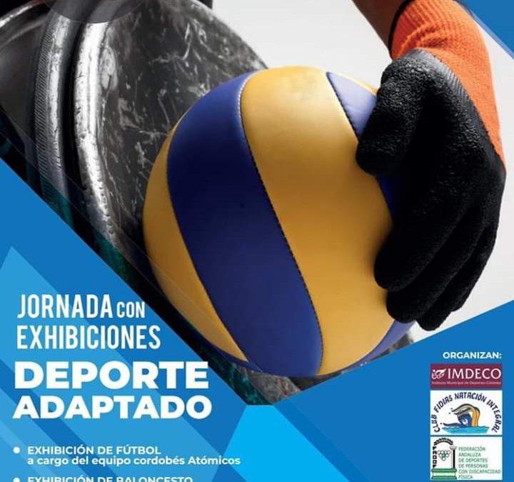 Jornada de exhibición de deportes adaptados en el Víal
