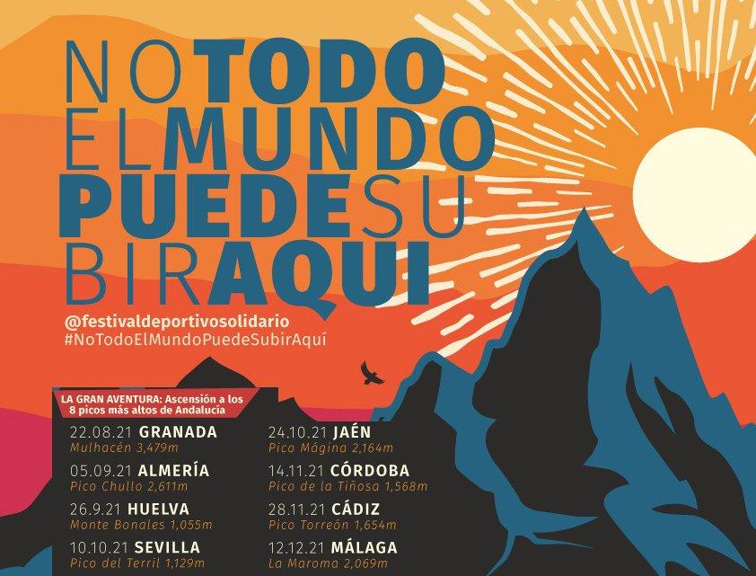 """Festival Deportivo Solidario """"No todo el mundo puede subir aquí"""""""