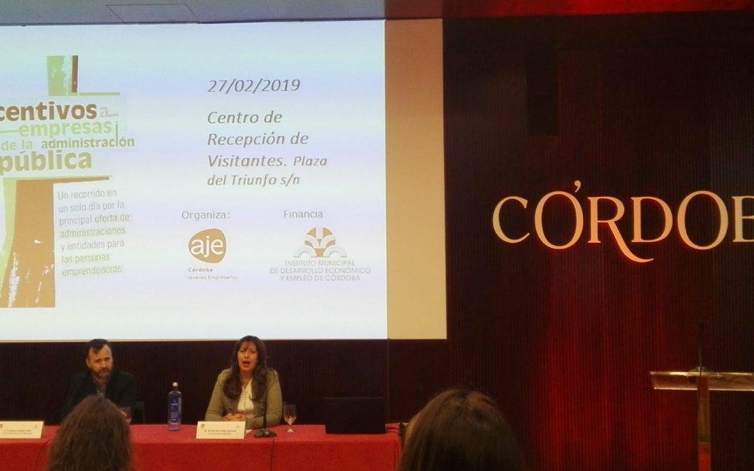 Presentación de la Convocatoria de Incentivos a Empresas desde la Administración Pública